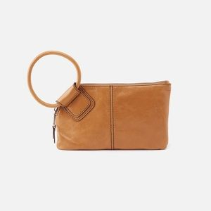 Nwot HOBO tan wristlet wallet